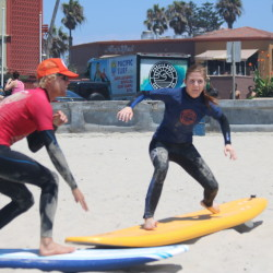 surf camp in san diego pop up technique